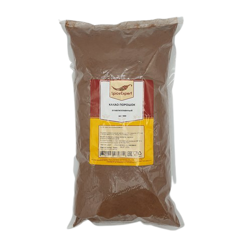 Какао порошок (пудра) алкализованный Spice Expert, 1 кг