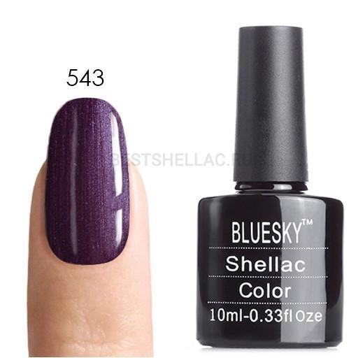 Bluesky Shellac 40501/80501 Гель-лак Bluesky № 40543/80543 Vexed Violette, 10 мл 543.jpg