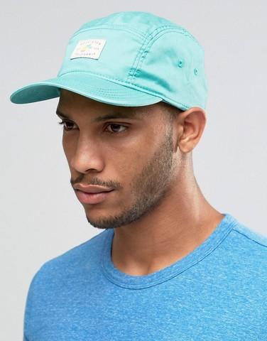 Blue-Green Baseball Cap