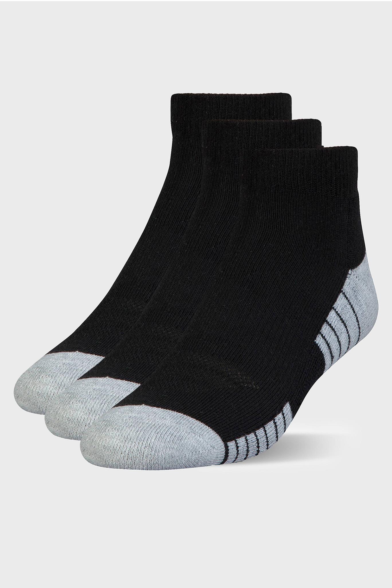 Черные носки HEATGEAR (3 пары) Under Armour