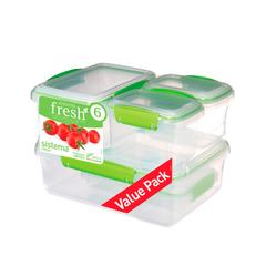 Набор пищевых контейнеров Sistema