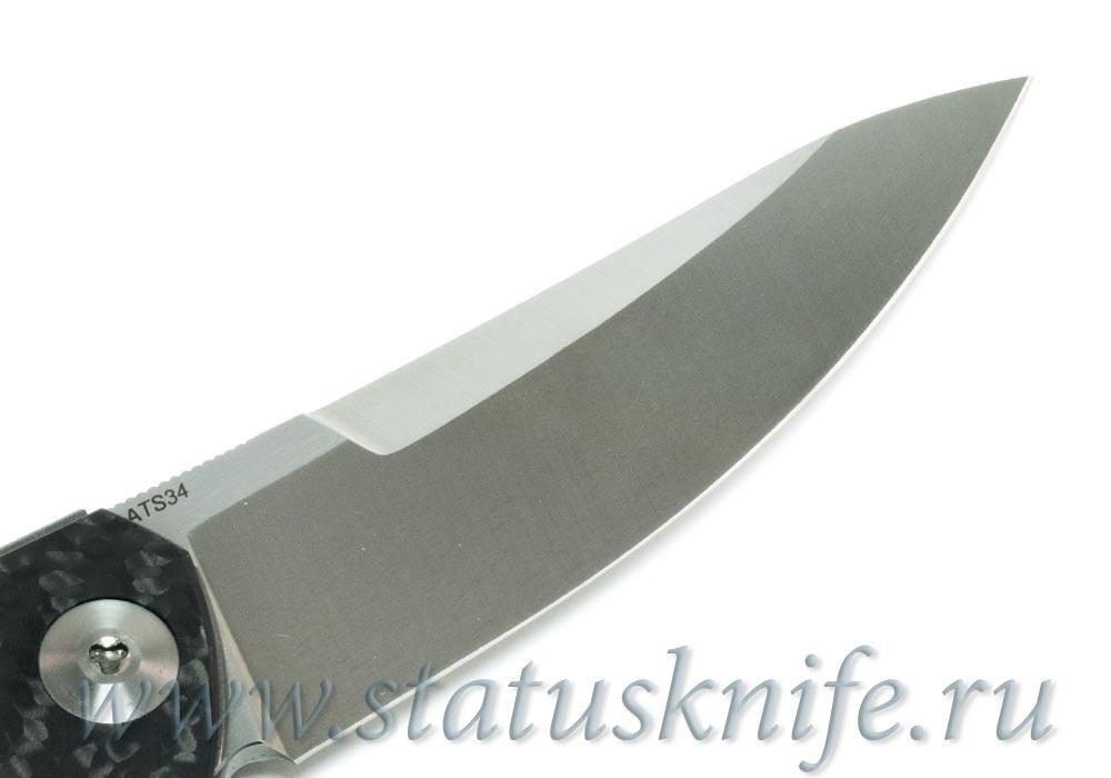 Нож Широгоров TETRA ATS-34 SIDIS дизайн - фотография