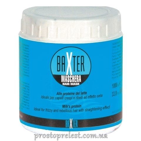 Punti di Vista Baxter Milk Proteins Smoothing Hair Mask - Разглаживающая маска для сухих и поврежденных волос с молочными протеинами
