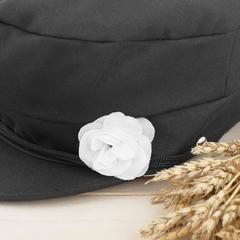 Шляпа баяниста с цветком, р-р. 56-58