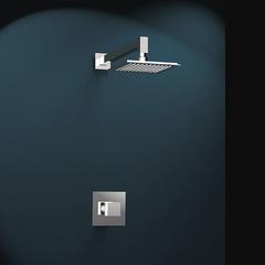 Встраиваемый смеситель для душа с душевым комплектом KUATRO K4718012 на 1 выход
