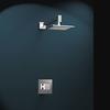 Встраиваемый смеситель для душа с душевым комплектом KUATRO K4718012 на 1 выход - фото №1