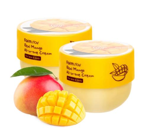 Крем для лица и тела с маслом манго Real Mango All-in-One Cream
