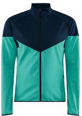 Тёплая лыжная куртка Craft Glide Block 2021 Blue мужская