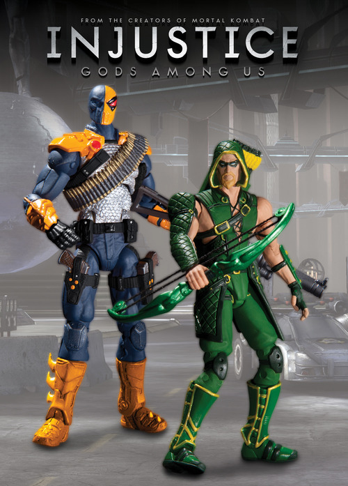 Injustice: Green Arrow & Deathstroke 3.75