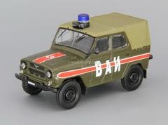 UAZ-469 VAI Military Vehicle Inspection USSR 1:43 DeAgostini Service Vehicle #8