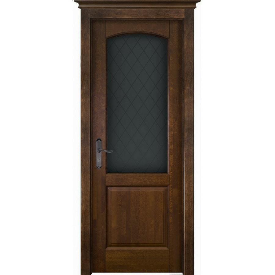 Для дачи Межкомнатная дверь массив ольхи ОКА Фоборг античный орех остекленная foborg-po-ant-oreh-min.jpg