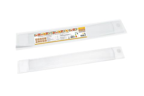 Светодиодный светильник LED ДПО 3017 16Вт 1450лм 4500К Компакт с датчиком Народный