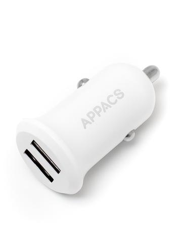 Автомобильное зарядное устройство APPACS (ПРОМО) AP01016, 2USB 2.4A
