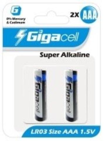 Батарейка Gigacell LR03-2 (2шт)