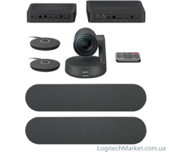 LOGITECH large room solution for Microsoft teams rooms (LTAPMSTLARGEI7CIS)