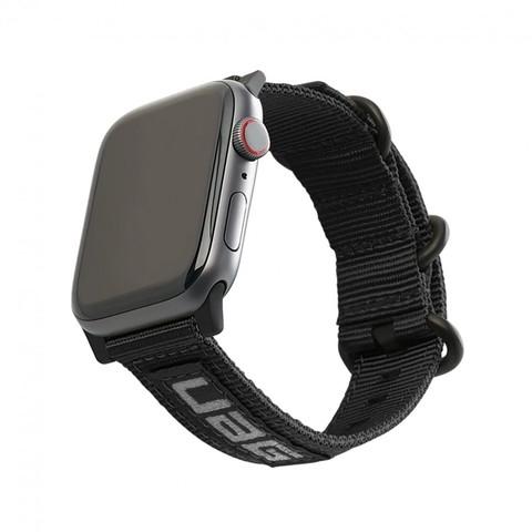 Ремень нейлоновый UAG Nato Eco Strap для Apple Watch 44/42 черный (Black)