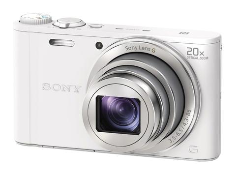 DSC-WX350W цифровой фотоаппарат Sony Cyber-Shot, белый