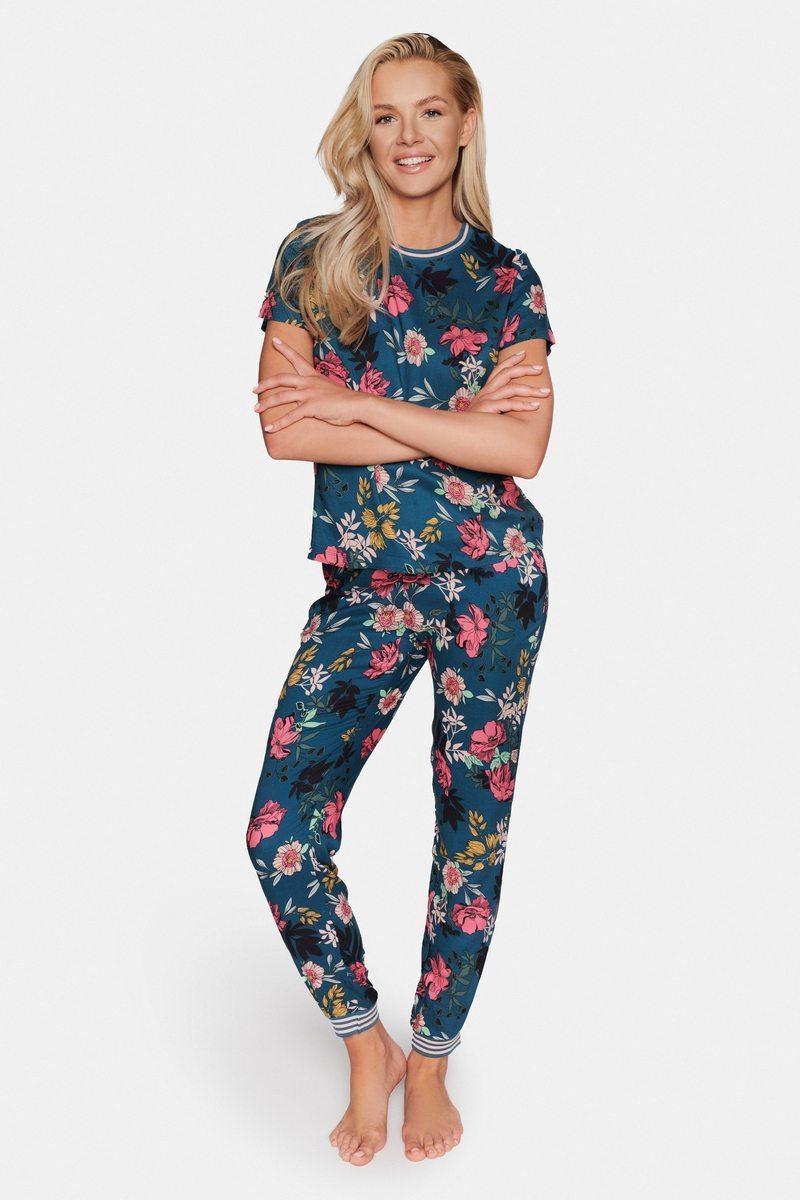 Пижама женская со штанами из вискозы ESOTIQ 38207 DELIGHT