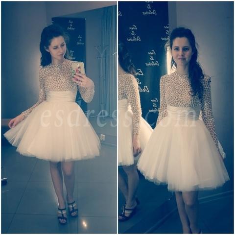 Милая Юля в платье Sherri Hill 21233