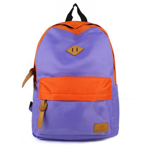Рюкзак PYATO SYDNEY Оранжевый + Сиреневый