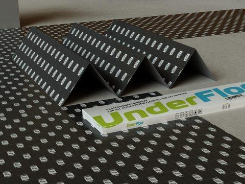 Подложка Under Floor Black Line 1,5 мм клеевая укладка (6,25 м2)