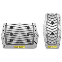 Накладки на педали MOMO Shield (автомат) Aluminum