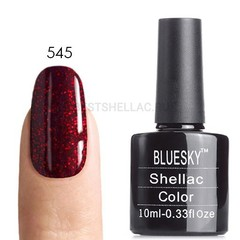 Гель-лак Bluesky № 40545/80545 (LV575) Ruby Ritz, 10 мл