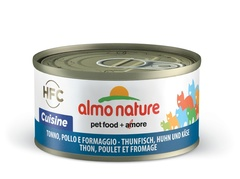 Консервы (банка) Almo Nature Legend Adult CatTuna, Chicken&Cheese