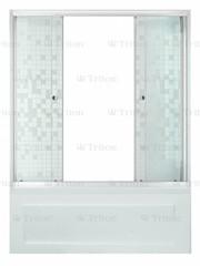Шторка для ванны Triton Аква Мозаика 150 двухстворчатая