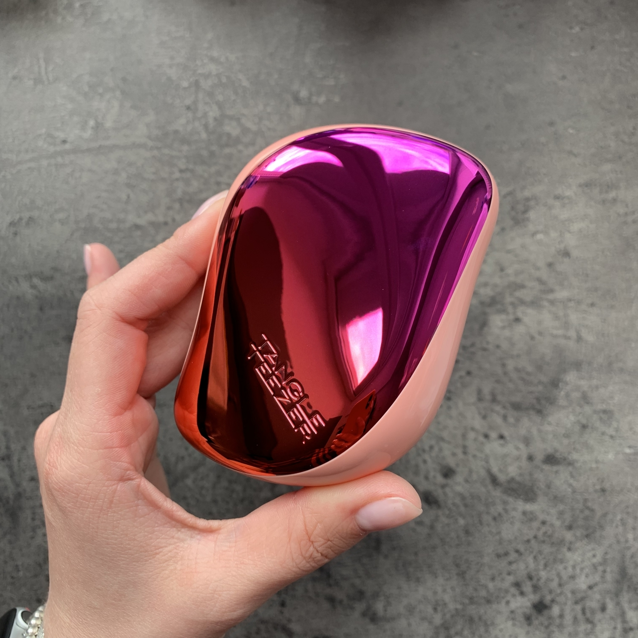 Tangle Teezer Compact Styler Cerise Pink Ombre