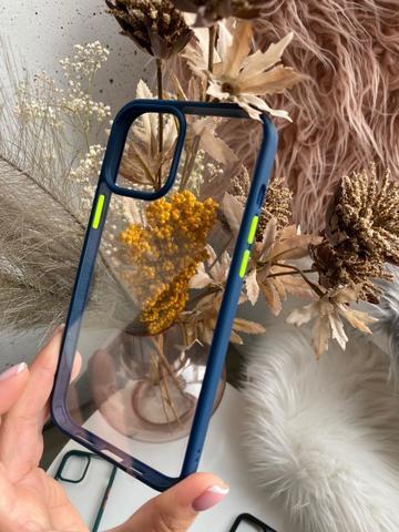 Чехол iPhone 12 Pro Max /6,7''/ Rock Guard Series /blue green/