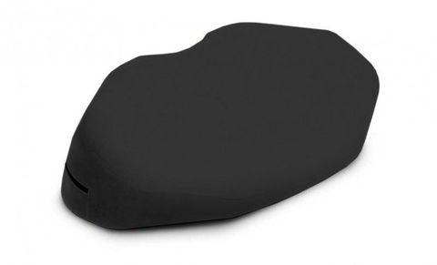 Чёрная вельветовая подушка для любви Liberator Retail Arche Wedge