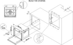 Встраиваемый духовой шкаф Simfer B6EW16011 - схема