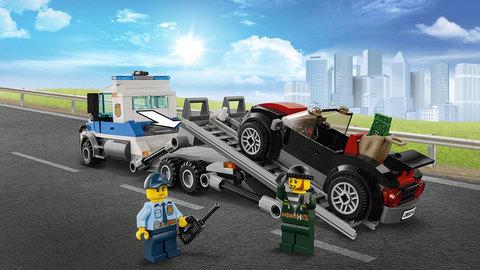 LEGO City: Ограбление грузовика 60143 — Auto Transport Heist — Лего Сити Город