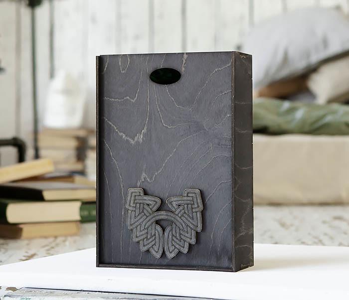 BOX230-1 Фирменная подарочная коробка с логотипом (18*26*7,5 см) фото 04
