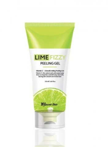 SECRETSKIN LIME FIZZY PEELING GEL Гель-скатка с лаймом 120 мл