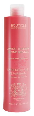 Бальзам для экстремально поврежденных осветленных волос - Bouticle Extreme Blond Repair Balm 300 мл
