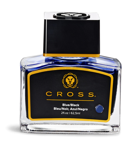 Cross Чернила (флакон), сине-черный, 62,5 мл