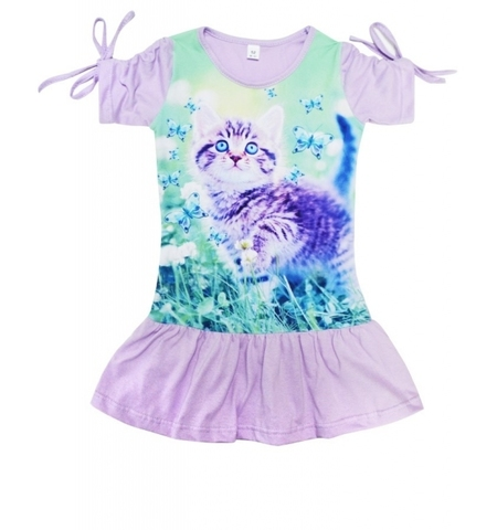 Платье Котёнок детское трикотажное