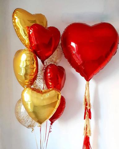 Сет воздушных шаров Любимой