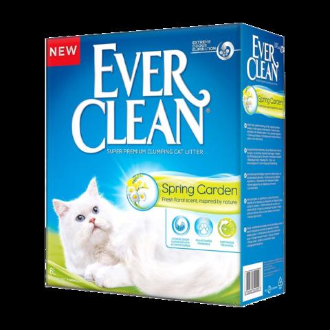 Ever Clean Spring Garden Наполнитель для туалета кошек с нежным ароматом весеннего сада комкующийся