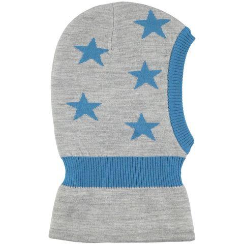 Детская шапка шлем Molo Snow Grey melange