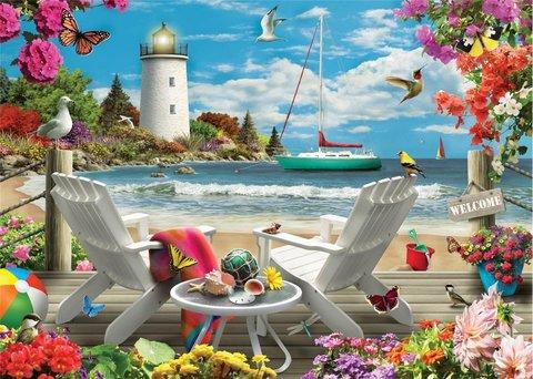 Алмазная Мозаика 20x30 Сказочный отдых у моря