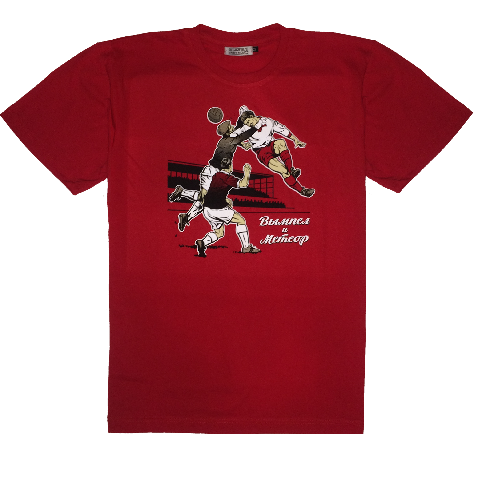 Clash red t-shirt