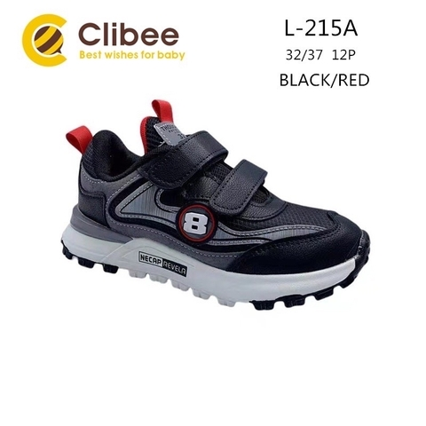Clibee L215A Black/Red 32-37