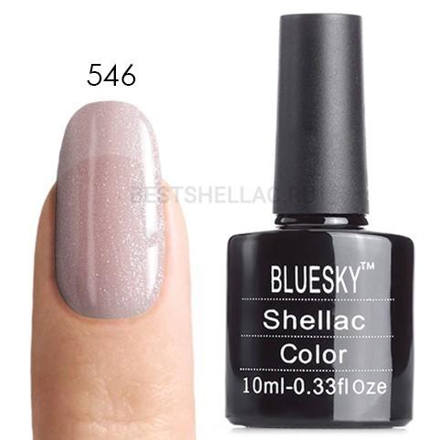 Bluesky Shellac 40501/80501 Гель-лак Bluesky № 40546/80546 Grapefruit Sparkle, 10 мл 546.jpg