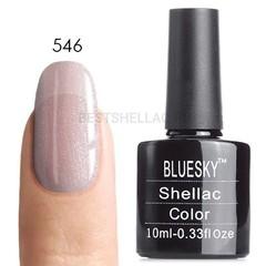 Гель-лак Bluesky № 40546/80546 Grapefruit Sparkle, 10 мл