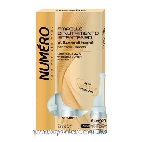 Brelil Numero Nourishing Lotion For Hair With Shea Butter - Лосьон питательный для волос с маслом карите