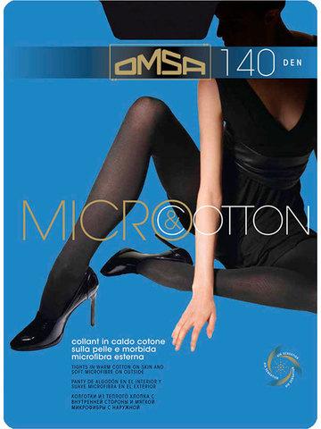 Колготки Micro&Cotton 140 Omsa