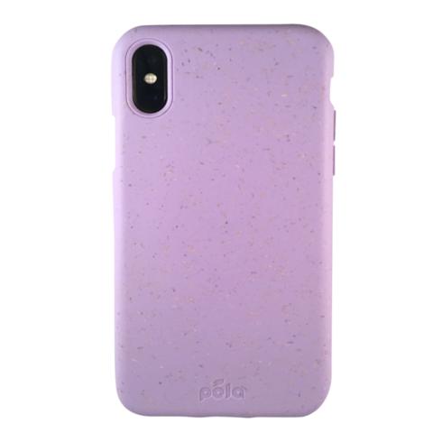 Чехол Pela для телефона iPhone X фиолетовый